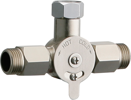 Concealed Mechanical Mixing Valve For Single Faucet Installations Chicago Faucets